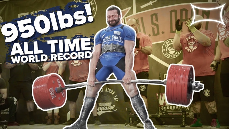 950lb ALL TIME WORLD RECORD DEADLIFT by Cailer Woolam Doctor Deadlift