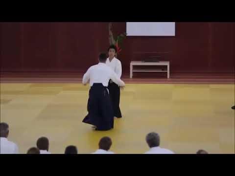 Ueshiba Mitsuteru Waka Sensei Ryote Dori Kotegaeshi