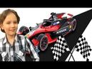 Гоночная машинка Шелл распаковка Shell racing car unboxing