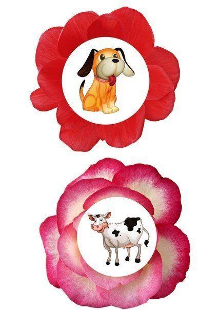 ДИДАКТИЧЕСКОЕ ПОСОБИЕ Вазы и цветы Цель: закреплять умение детей делить слова на слоги, развивать внимание, быстроту