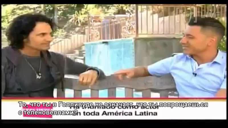 Mario Cimarro entrevistado por Jorge Bernal en la Suelta la Sopa con los subtítu