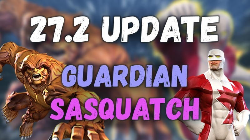 MCOC 27 2 Guardian Sasquatch Marvel Contest of Champions