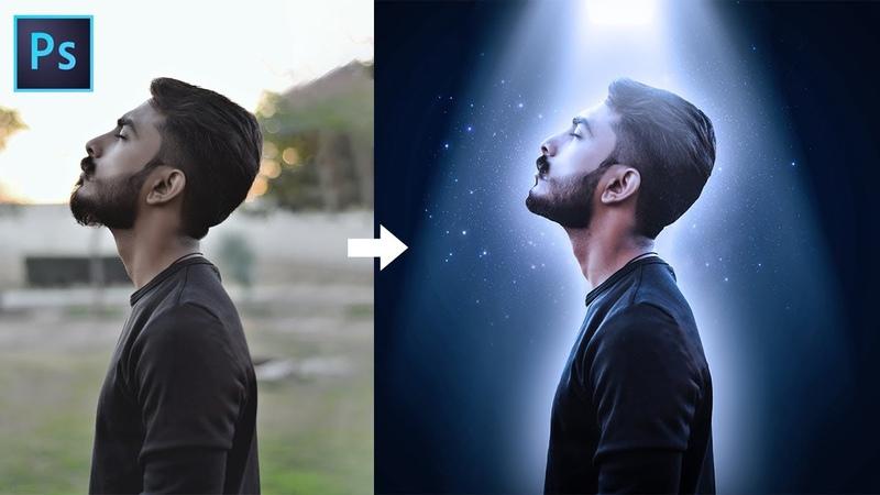 Portrait Glow Effect Photoshop Tutorial