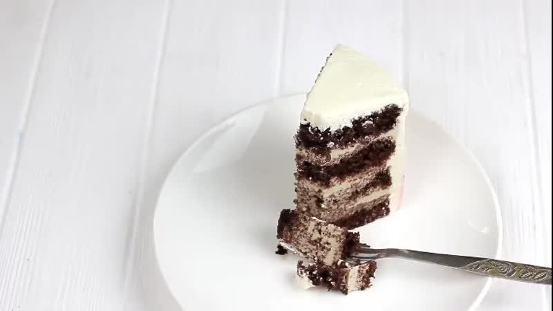 Шоколадный торт с кофейным муссом Наша группа во ВКонтакте ТОРТ РЕЦЕПТ VК