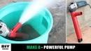 Angle Grinder HACK Make A Water Pump DIY