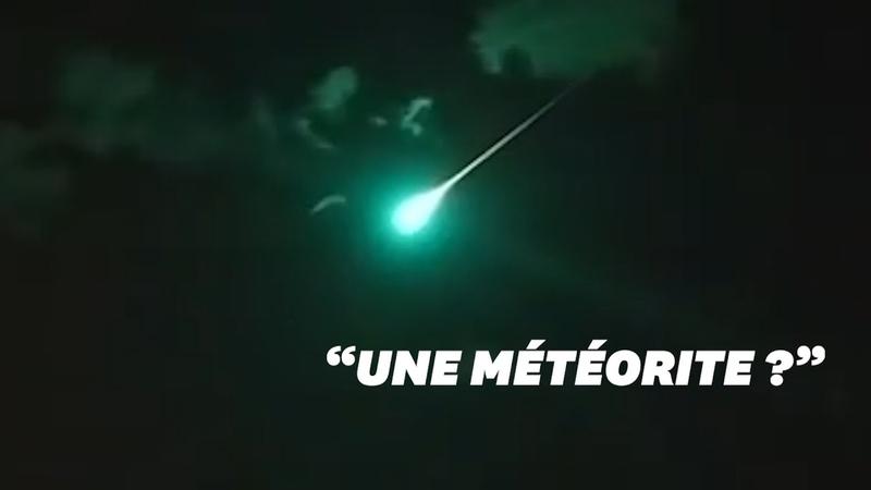 En Australie une boule de feu verte non identifiée transperce le ciel