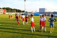 Фото с тренировки сборной команды 2010 года рождения