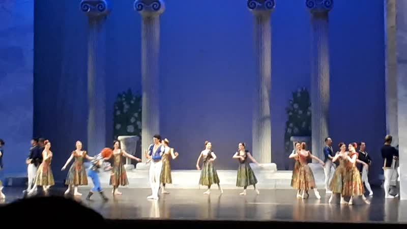 Swan Lake Act 1 Birthday Celebration for Prince Sigfried 2