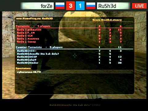 ForZe vs RuSh3d