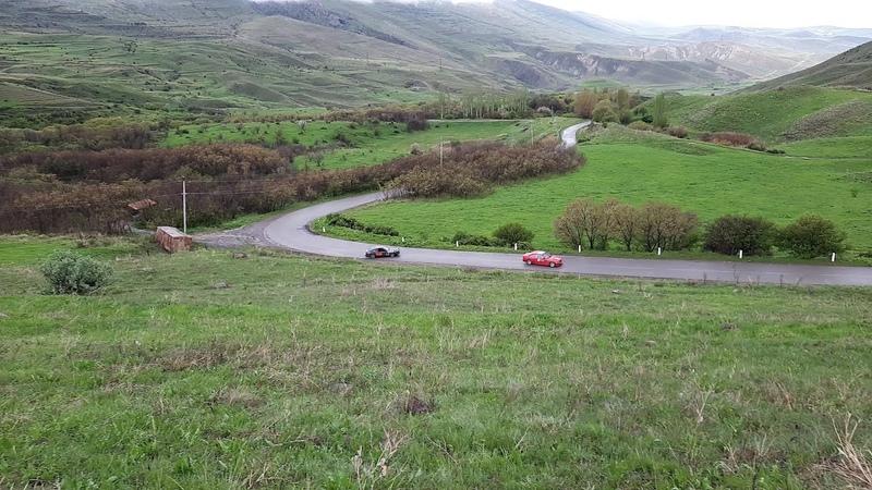 Nissan 240SX RB25DET BMW E36 M52B28 Turbo Drift in Touge Парный дрифт Armenian Drift Touge Drift
