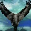 картинки слон с крыльями ответ