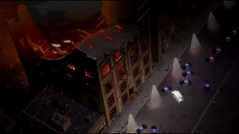 Бэтмен против полиции Готэма mp4