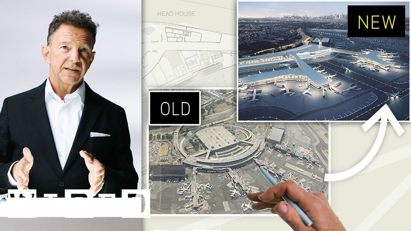 Airport Expert Creates the Ideal Layout for LaGuardia Airport New York WIRED