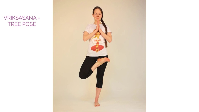 Video lessons of Openyoga Vrikshasana