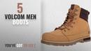 Top 10 Volcom Men Boots Winter 2018 Volcom Mens Sub Zero Winter Boot, Wheat, 11.5 US/11.5 D US