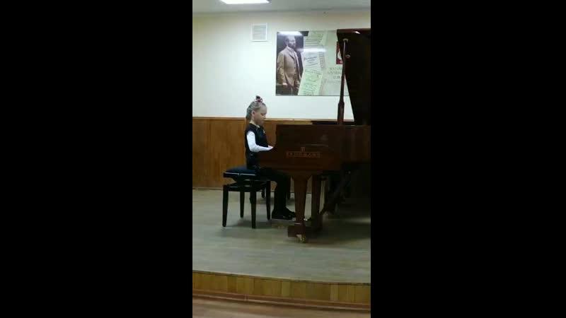 Кристина Громова 1 класс муз школа