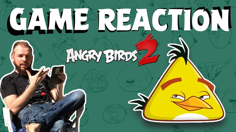 Angry Birds Game Reaction WILD EDITION Lex vs Angry Birds 2