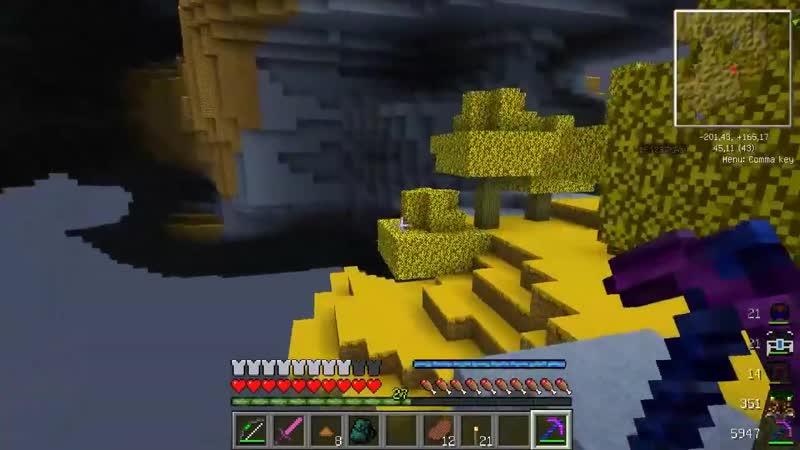 Minecraft Энергия 66 Сыр косичкой
