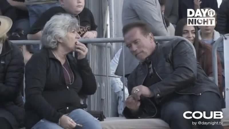 Обычный парень Arnold Schwarzenegger on
