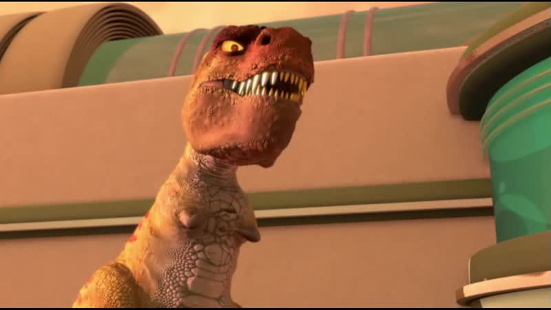 Динозавр Говорит Голова большая а ручки маленькие какой то не продуманный у вас план хозяин глупый тупой В гости к Робинсонам