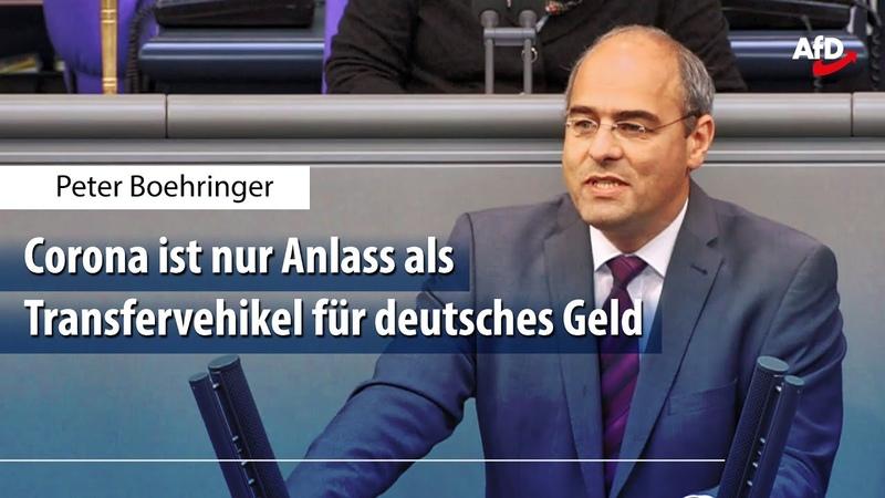Peter Boehringer zum ESM-Antrag vom Bundesfinanzministerium