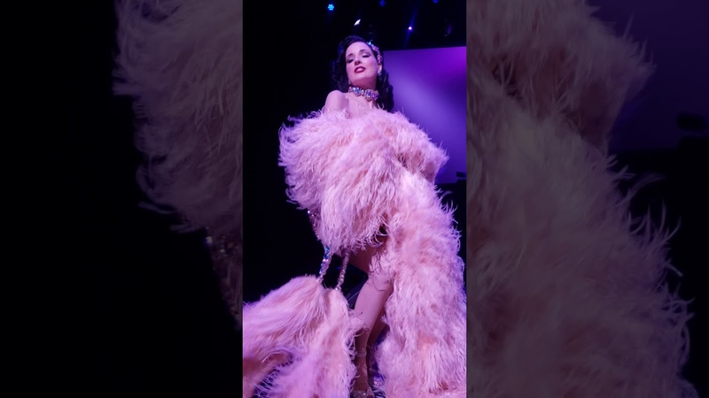 Dita Von Teese Live at The Palace October 27 2019