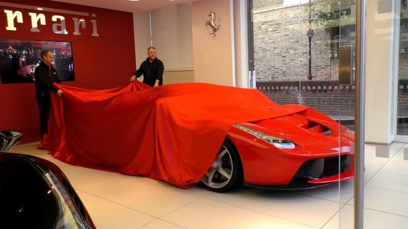 New $2 5Million Ferrari LAFERRARI Delivery in Central London