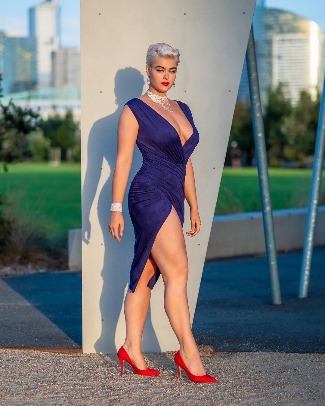 Австралийская модель «размер плюс» — Стефания Феррарио, разрушила стереотипы – она не худая, но выглядит потрясающе