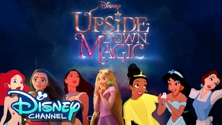 What if Disney Princesses went to Sage Academy?! | Upside-Down Magic | Disney Channel