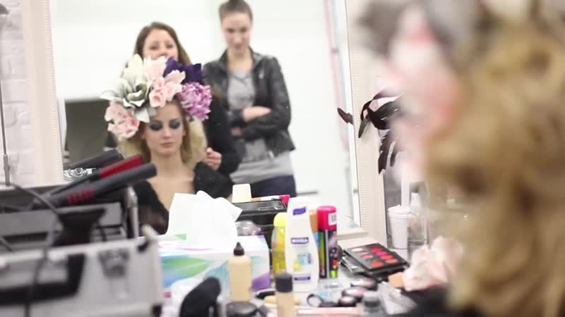 Fashion photography Behind the scenes video Sample