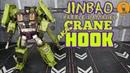 Jinbao KO Oversized Gravity Builder Devastator Battle Damaged Version not Hook review