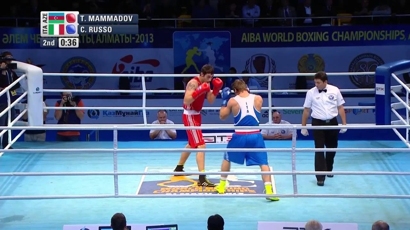 Men's Heavy 91kg Semi Final Teymur MAMMADOV AZE vs Clemente RUSSO ITA
