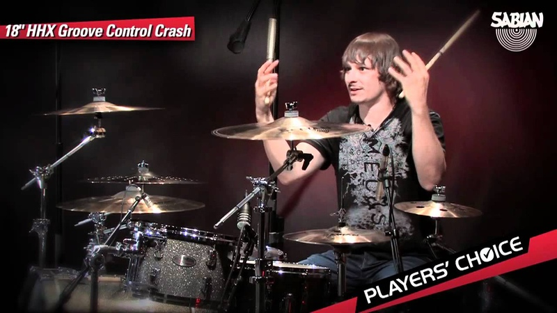 SABIAN Players' Choice Ray Luzier Demos the 18 HHX Groove Control Crash