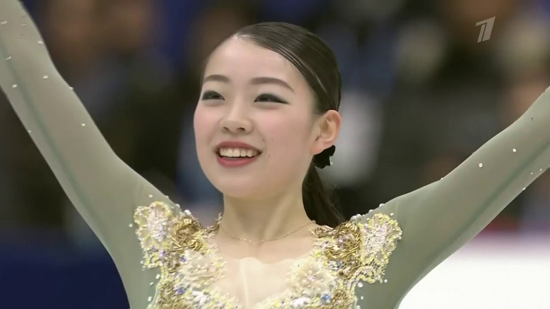 Rika KIHIRA. NHK Trophy 2019, FS, (231.84)