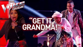 16-Year-Old and grandmother steal the show in The Voice! | Journey #28