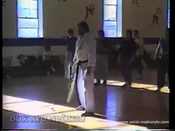 Dux Ryu Ninjitsu seminar Shidoshi Frank Dux Tanaka Clan Ninjutsu