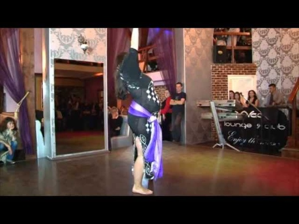Oriental dance by Shereen 8 5 months pregnant