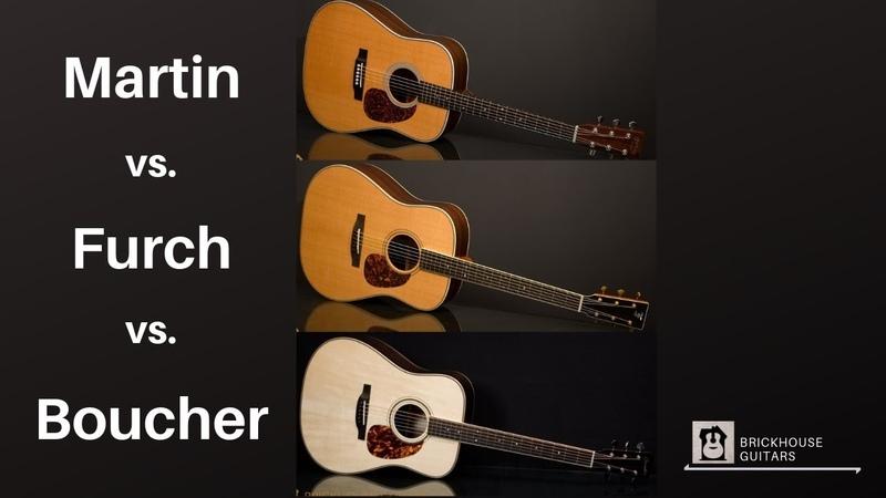 Martin vs. Furch vs. Boucher | High-End Guitar Comparison