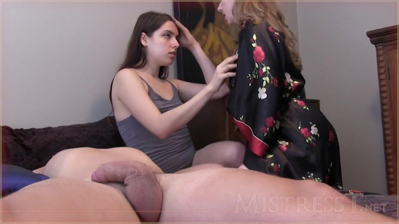 Mistress T - Lesbian Cuckold Meets The Bull