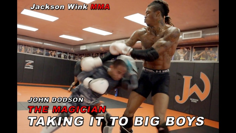 John Dodson UFC taking it to big boys with a little drama