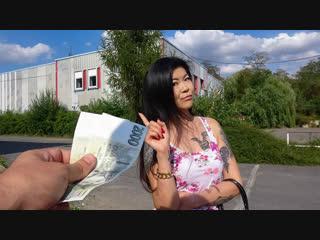 Akasha Coliun - Hot Asian chick loves girthy cock [Brunette, Asian, Teen, Natural Tits, POV, 1080p]