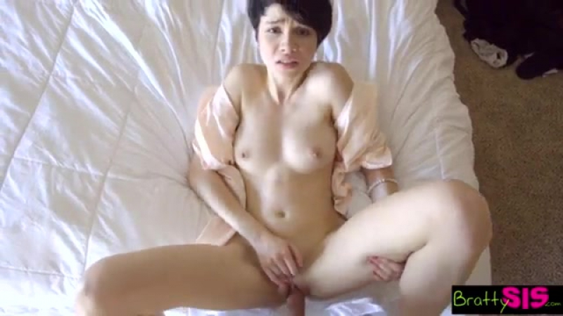 Bratty Sis - Fucked My Stepsister In Our Parents Bed [HD, star, pov , big tits, big ass, new porn 2017]