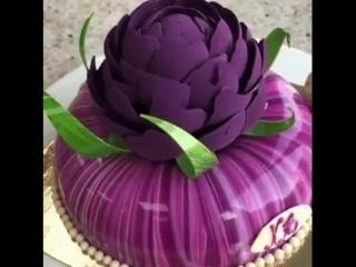Очень красивый торт, оцените