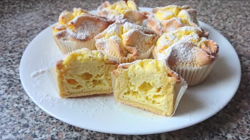 НЕИМОВЕРНАЯ ВКУСНОТА ИЗ ТВОРОГА.Итальянские пирожные Соффиони dolcetti Soffione