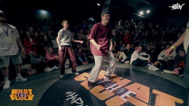 Irina S.N.CH. Damen vs Ronin Gulya | 18 Hip Hop 2X2 WHAT THE FLOCK 6