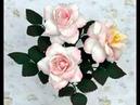 Pokaz tworzenia kwiatów z foamiranu przy użyciu wykrojników Craft Passion
