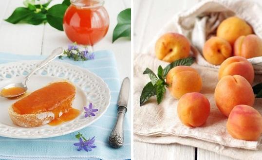 Абрикосовый джем с корицей и лимоном