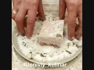 Как вкусно засолить сало!