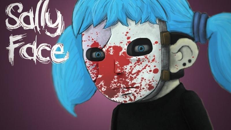 Салли кромсали Sally Face 5