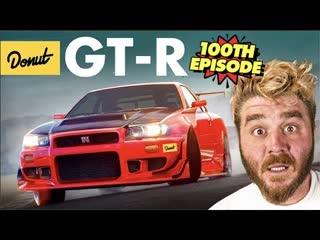 Въехать в суть. 100-ый выпуск. Всё, что вам нужно знать о Nissan GTR BMIRussian